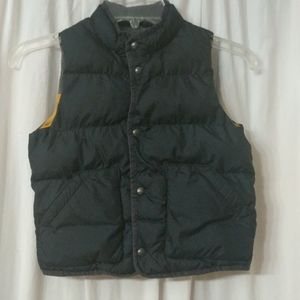 Baby Gap winter vest. Size toddler/5 years